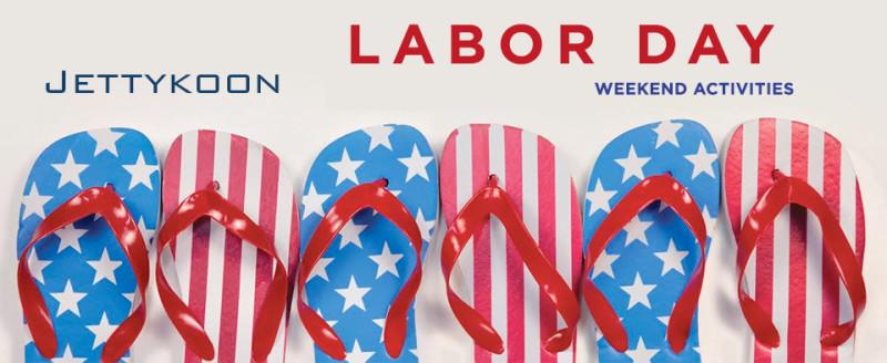 Labor-Day flip flops