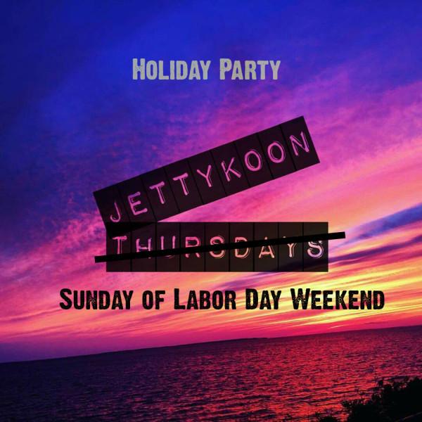 Jettykoon Sunday of Labor Day 2016