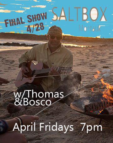 saltbox April Final Show Fridays 2017